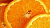 Orange slices (macro zoom)
