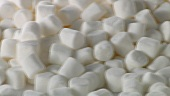 Lots of white marshmallows