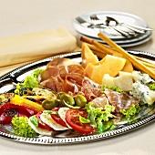 Antipasti misti (Mixed appetiser platter, Italy)