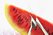 Yellow-skinned watermelon (Thailand)