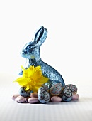 A chocolate Easter Bunny