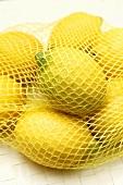 Several lemons in net