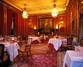 Interior of Vivaldi restaurant in Castle hotel at the Ritz Carlton, Berlin, Germany