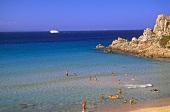 Meeresbucht bei Santa Teresa di Gallura auf Sardinien.