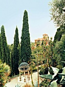 View of Giardini Botanici Hanbury, Liguria, Italy