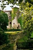 View of Castle Villarlong, South France