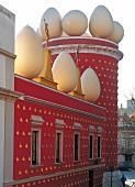 Das Teatre-Museu Dali in Figueres in Katalonien