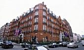 View of Hotel Claridge's on Brook Street, London, England