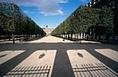 Der Palais Royal mit Palastgarten im Sonnenschein, Paris