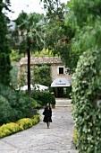 Außenansicht vom Hotel u. Restaurant L`Hermitage Mallorca, Spanien
