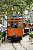 Straßenbahn in Sóller auf Mallorca