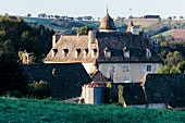 Chateau of la Mothe in Calvinet, Auvergne, France