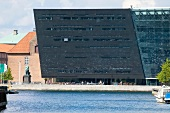 View of Royal Library in Copenhagen, Denmark