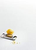 Wild aus aller Welt, Step, Zitronenschale abreiben, gelb