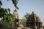 Indien, Westliche Tempelgruppe in Kh ajuraho