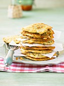 Fritelle di zucchini (courgette fritters with herbs, Italy)