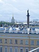 Kempinski-Hotel in St. Petersburg, Blick über die Stadt.