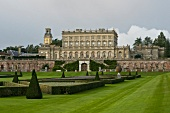 View of Cliveden mansion, Berkshire, England