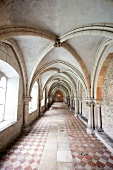 Arcades and Cloister in Benedictine Monastery, St. Emmeram Castle, Germany