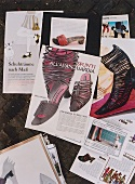 Different shoe magazines