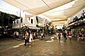 Türkei, Bodrum, Einkaufspassage, Händler, Kunden
