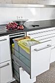 Küche, Mülleimer, Mülltrennung