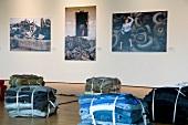 Art exhibition at Kumu Museum in Tallinn, Estonia