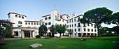 View of Hotel de La Gavina in S'Agaro, Girona, Spain