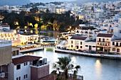 Agios Nikolaos coastal town on the island of Crete, Greek
