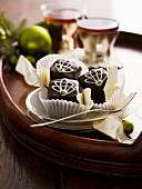Sacher Torte (rich Austrian chocolate cake) pralines for Christmas