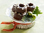 Gingerbread doughnuts for Christmas