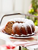 A spiced Bundt cake for Christmas