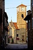Italien, Piemont, Kirche in Bergolo