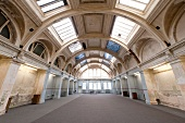 Interior of Harland & Wolff building, Belfast, Ireland