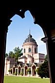 Exterior of mosque in Schwetzingen, Baden-Wurttemberg, Germany