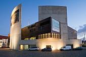 Facade of German Emigration Centre, Bremerhaven, Germany