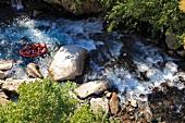 Köprülü: Köprülü-Canyon, Strom- schnellen, Rafting