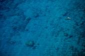 View of Blue sea in Lycia, Antalya, Turkey, overhead view