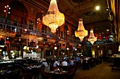 "Stockholm: Gastraum im Restaurant ""Berns Salonger"""