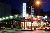 Katz's Delicatessen in Manhattan, New York