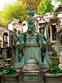 Crespin family grave at Pere Lachaise Cemetry in Paris, France