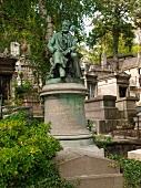 Paris: Friedhof Père Lachaise, Grab, About