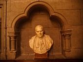 Bust of Cardinal Archbishop Jean Verdier, Paris, France