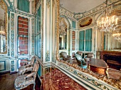 Interior of living room of Versailles at Versailles Palace, France