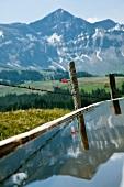 View of Alps in Tannhorn, Entlebuch, Lucerne, Switzerland