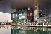 View of Culture and Covention Center, Lake Lucerne, Lucerne, Switzerland