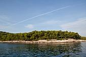 View of Brac island on Adriatic coast, Dalmatia, Croatia