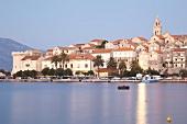 Kroatien: Korcula, Küste, Hafenstadt