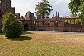 Ruins of Imperial Palace in Gelnhausen, Hesse, Germany