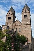 Exterior view of St. Hildegard's Abbey in Rudesheim am Rhein, Hesse, Germany